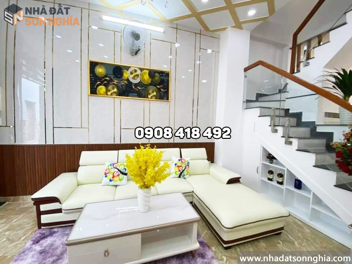 Phòng khách tặng nội thất sofa cao cấp