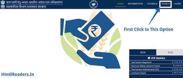 सूची 2019 - राजस्थान किसान कर्ज माफ़ी योजना 2 लाख रुपये लोन