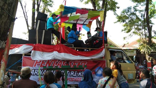 Inilah Juara Karnaval HUT Ke-74 RI Kabupaten Grobogan