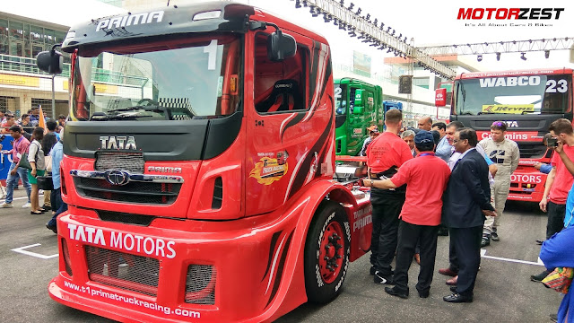 1000 bhp Tata Prima Truck lap record India