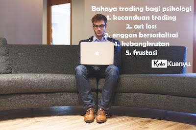 bahaya trading saham bagi psikologi trader