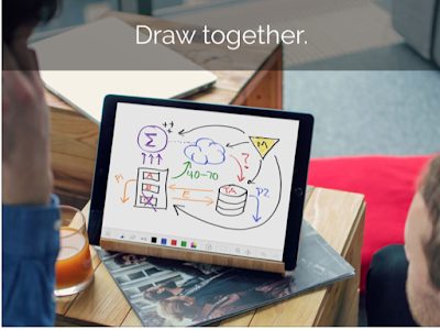 Another Great Collaborative Whiteboarding Tool for Teachers