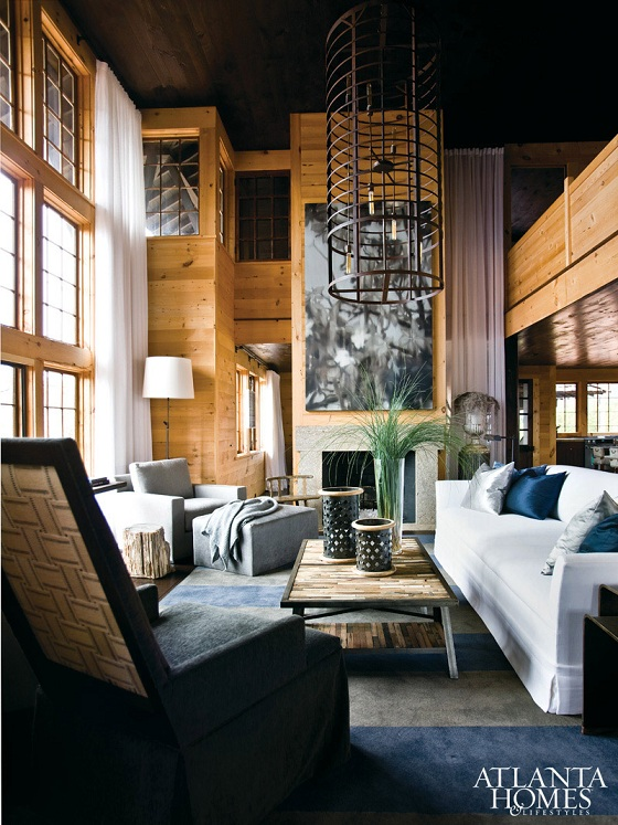 Sophisticated Home With Asian Tone: Mix And Chic: Home Tour- A Chic And Sophisticated Alabama