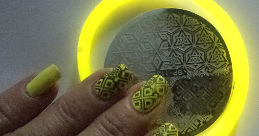 2566 born pretty store plate bp-113 abstract stamping nails