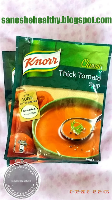 Make knorr classic thick tomato soup in few minutes.