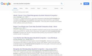 Cara Page One Google Dengan Mudah