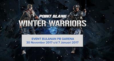 Cara Tukar, Belanja Koin, Klaim dan Mengikuti Event PB Garena Winter Warriors
