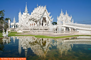 Cover Photo: The White Temple (Wat Rong Khun)