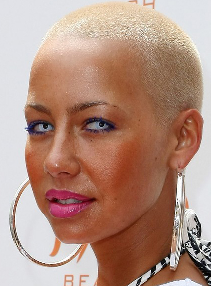Tremendous Keep All Stuff With You Amber Rose New Hairstyle Short Hairstyles Gunalazisus