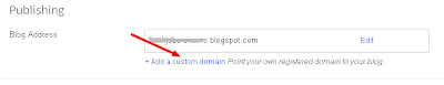 Set up a Custom Domain on Blogger