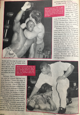 Inside Wrestling  - November 1998 - Steve Austin vs. Bill Goldberg - Is Stevie Ray Trying to Sabotage Booker T's Career? (2)