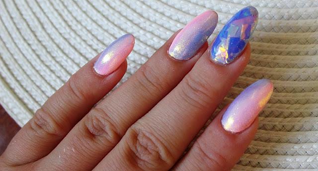 Ombre+syrenka+gradient=paznokcie idealne  :)
