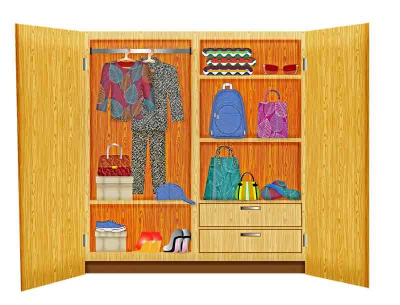 Childs-wardrobe
