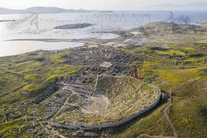 Η Ιερά Δήλος, πατρίδα του Απόλλωνα