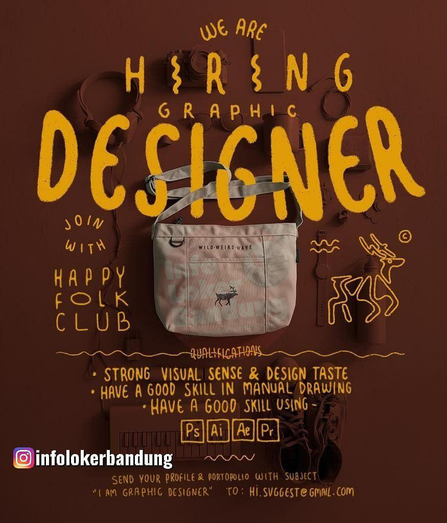Lowongan Kerja Graphic Designer Svggest Bandung Agustus 2019