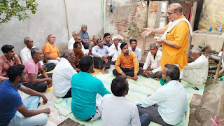 भाजपा नेताओं ने बूथ स्तर तक पहुंचाई सरकार की उपलब्धियां
