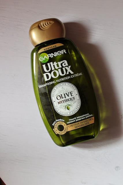 Shampooing Nutrition Extrême Olive Mythique  Ultra Doux - Garnier