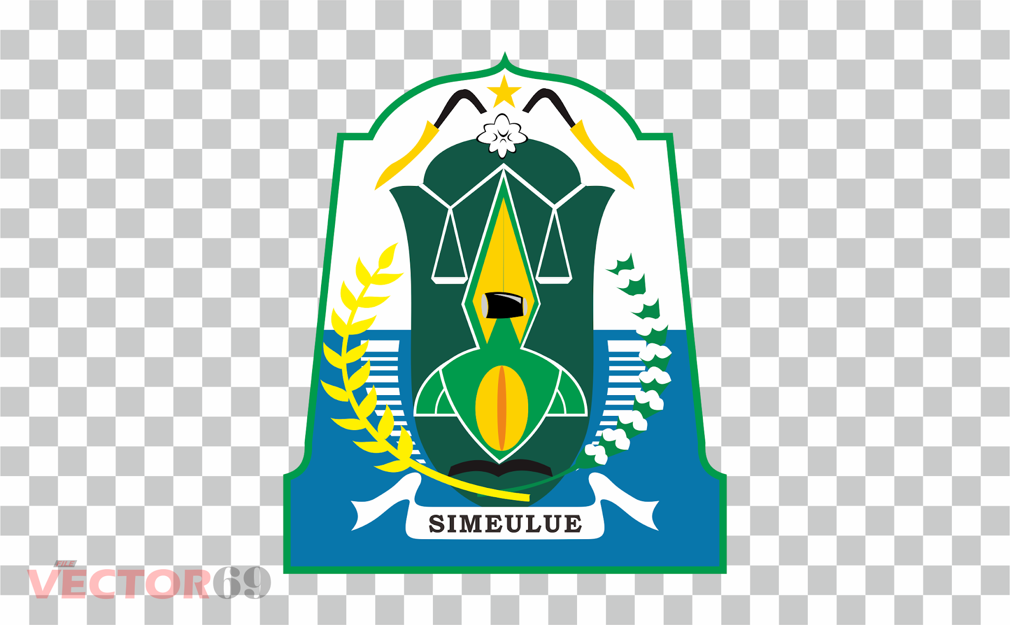 Kabupaten Simeulue Logo - Download Vector File PNG (Portable Network Graphics)