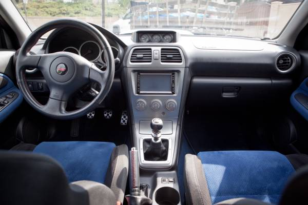 2005 Subaru Impreza WRX STI Auto Restorationice