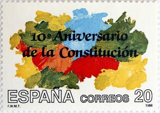 X ANIVERSARIO DE LA CONSTITUCIÓN ESPAÑOLA DE 1978
