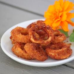 how to make simple fried calamari