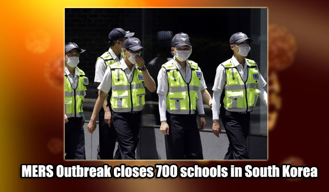 MERS Outbreak closes 700 schools in South Korea