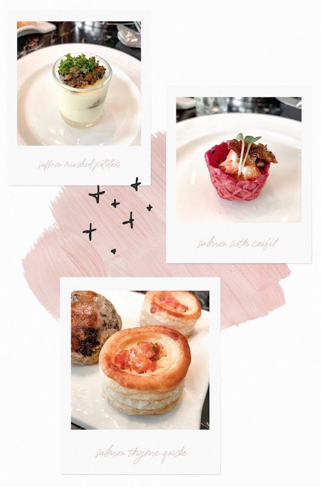 rose de mai the lobby lounge high tea review (savoury)