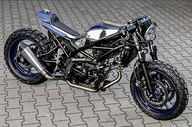 Suzuki SV650 By Krautmotors Hell Kustom