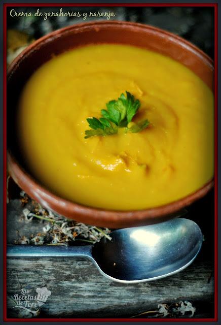 crema de zanahorias y naranja tererecetas 02