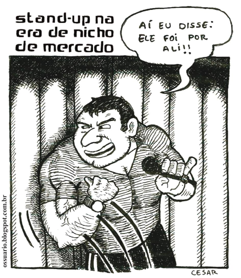 Cesar Andrade, cartunista freelancer.