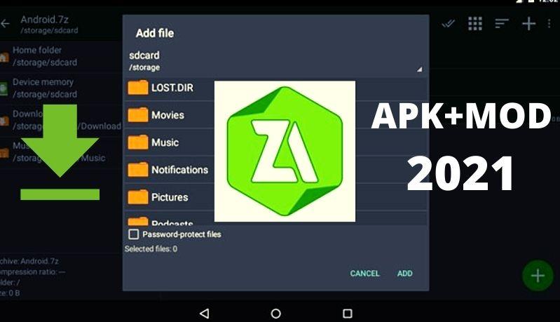 ᐉDescargar Zarchiver Pro V 0.94 Pro + Mod apk para Android 2021