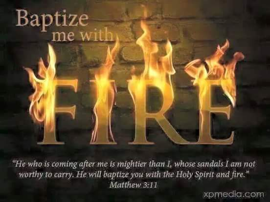 Annie's Graceful Words: Baptism in the Holy Ghost and Fire
