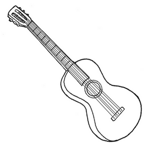 Laminas Para Colorear Coloring Pages Instrumentos Musicales Para