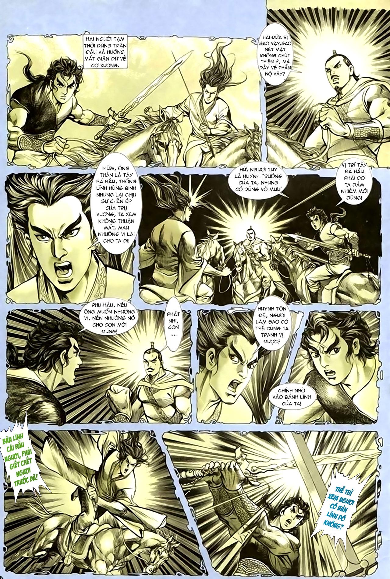 Cơ Phát Khai Chu Bản chapter 136 trang 5