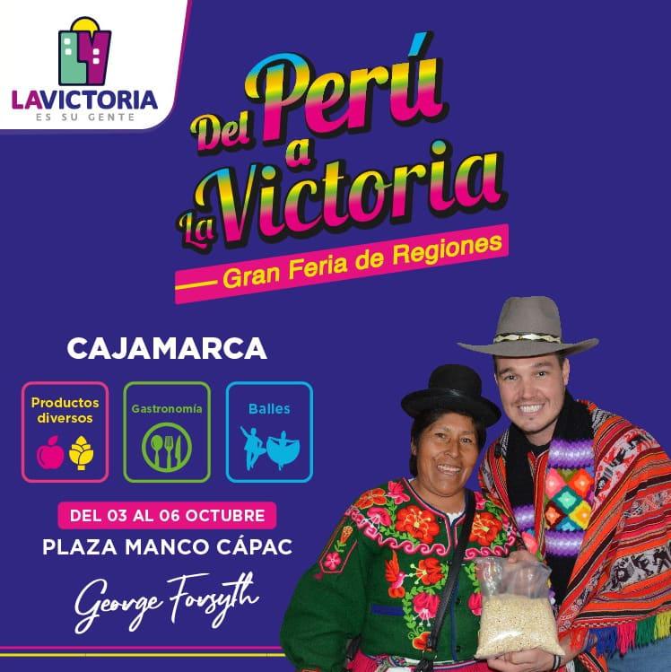 Del Perú a La Victoria - Gran Feria de Regiones