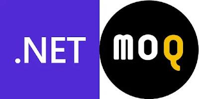 .NETとMoqのロゴ