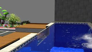 Taman dan kolam renang minimalis belakang rumah jasataman co idTaman dan kolam renang minimalis belakang rumah jasataman co id
