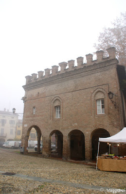 Edificio medievale in Fontanellato