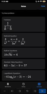 تطبيقMicrosoft Math Solver