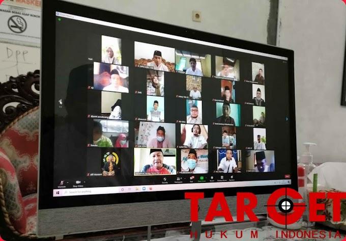 Halal Bihalal Virtual oleh Wabup Safin bersama Pemuda Karang Taruna Pati