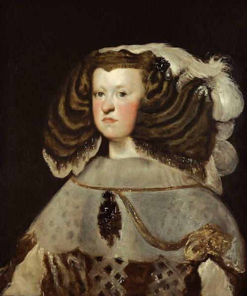 Диего Веласкес - Портрет Марии Австрийской, королевы Венгрии (1655-1657)