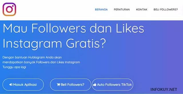 hublagram - situs auto followers instagram
