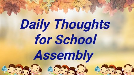 Everyday School Inspirational Quotes-365 Thought/ Quotes of the Day