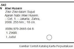 Format Kartu Katalog Perpustakaan