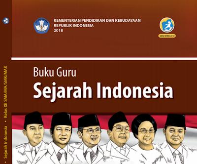 Download teladan RPP Sejarah Indonesia Kelas 12 Kurikulum 2013 Revisi 2018