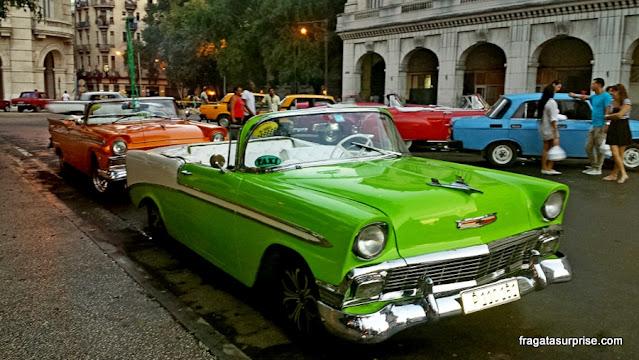 Carros antigos, Havana, Cuba