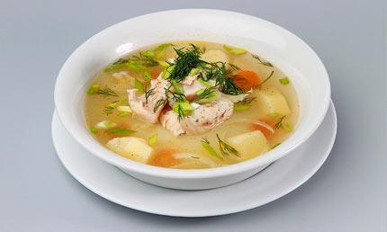 Суп из толстолобика