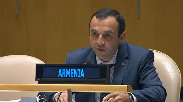 Armenia votó en la ONU por Rusia