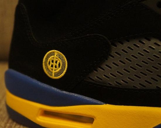 adb715b5f2f9 Best Cheap Nike Air Jordan 5 Retro Shanghai Shen Black Yellow Bl ...