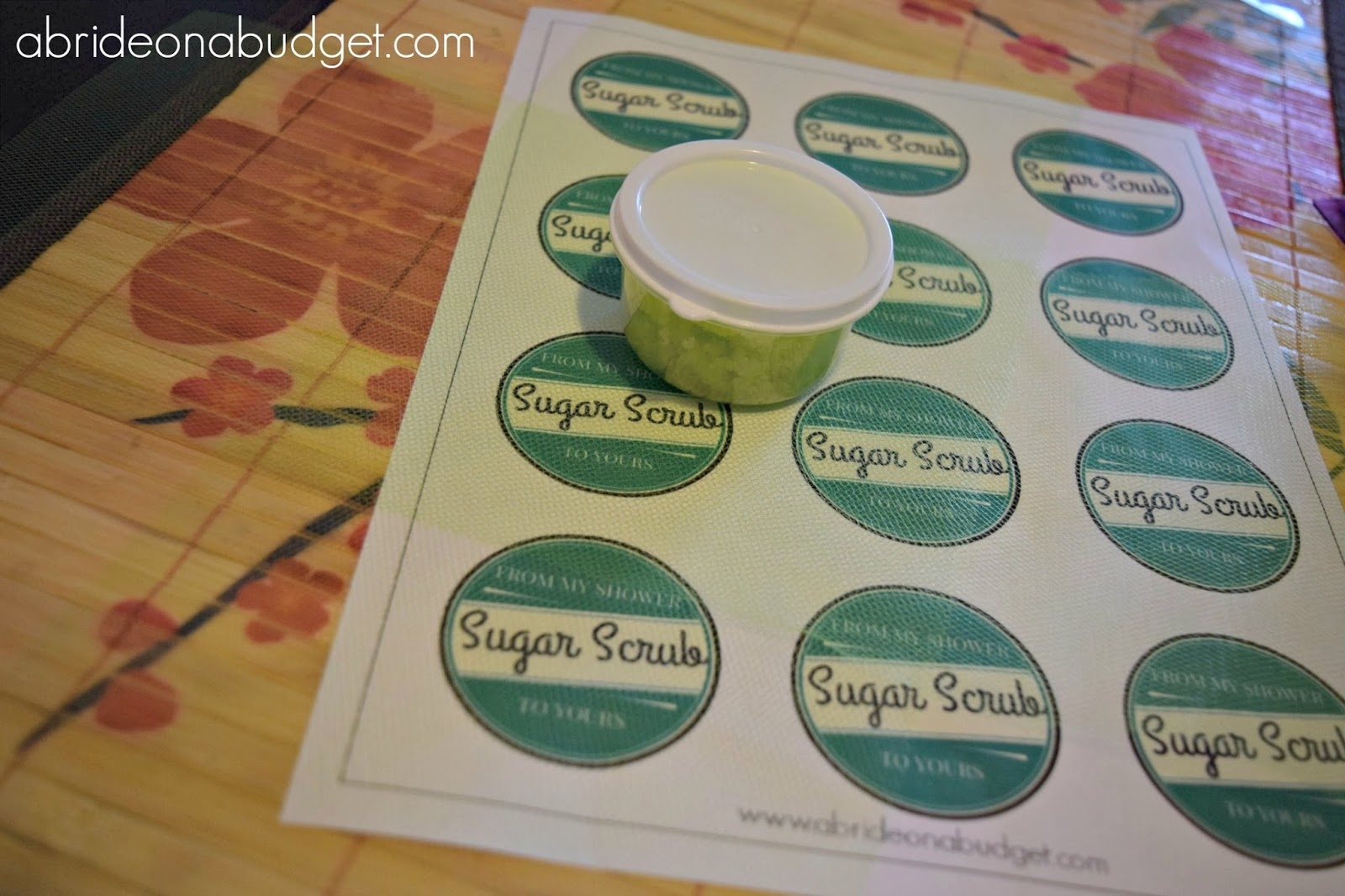 need a fantastic bridal shower idea make these mint sugar scrub bridal shower favors from